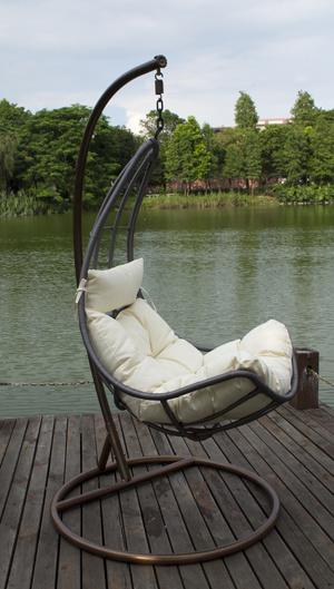 Living Room Furniture Type Indoor Rattan Hanging Egg Chair
