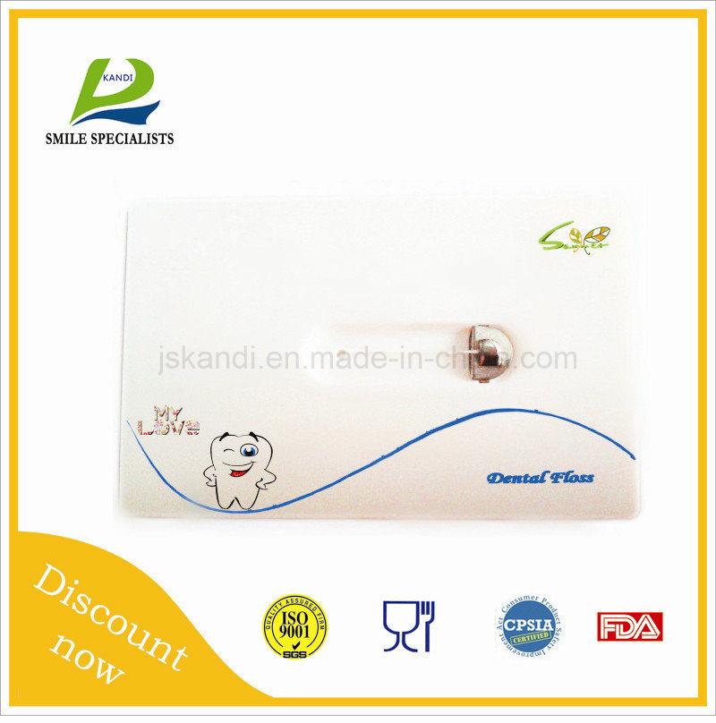 Printing Logo Dental Floss Card Supplier