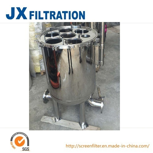 Stainless Steel Bag Filter for Water Treatment