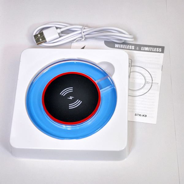 Qi Wireless Charger for Samsung S6/S6 Edge/Nexus/iPhone/HTC Smartphone