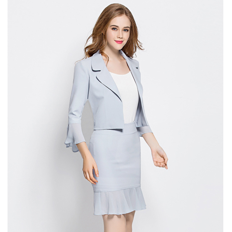 latest Fashion Style Women Business Suit for Office Lady