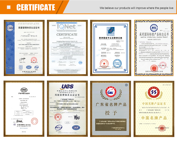 Good Quality Aluminium Profile for Cabinet