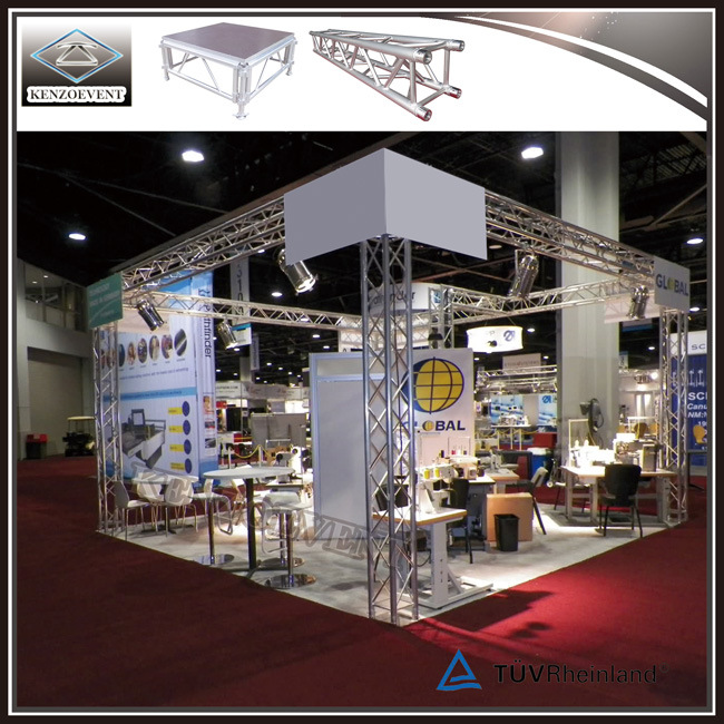 Exhibition Booth Reference : China standard aluminum truss booth modular exhibition