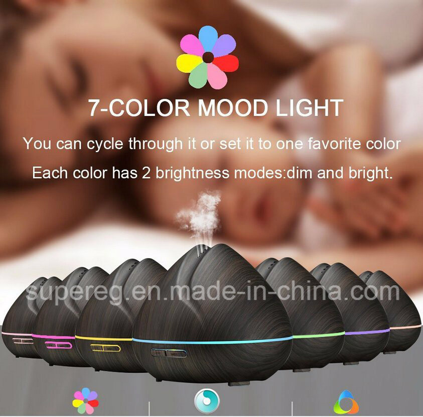 Aromatherapy Essential Oil Diffuser Ultrasonic Air Humidifier for Home