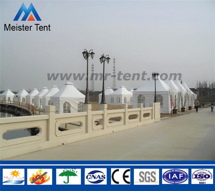 3-10m Span White Canvas Pagoda Party Event Tent Gazebo
