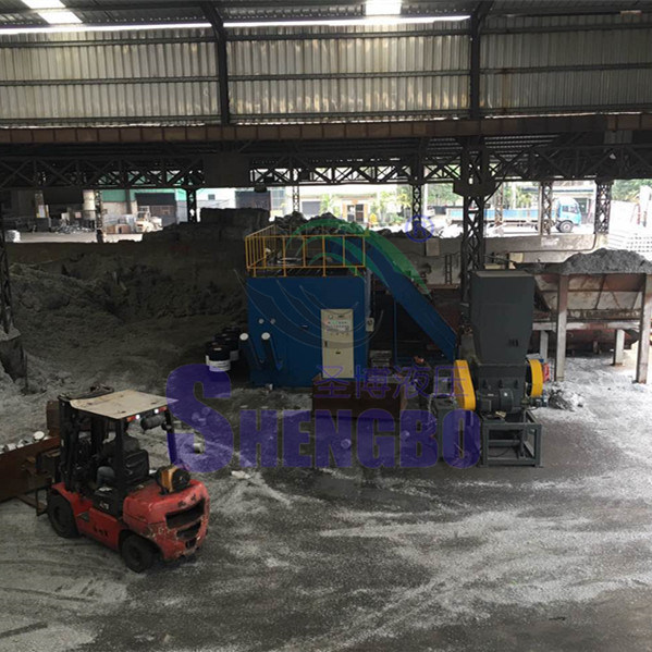 Horizontal Automatic Aluminium Chips Block Making Machine (CE)