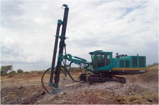 Best Price Road Construction Used Rotary Drilling Rig