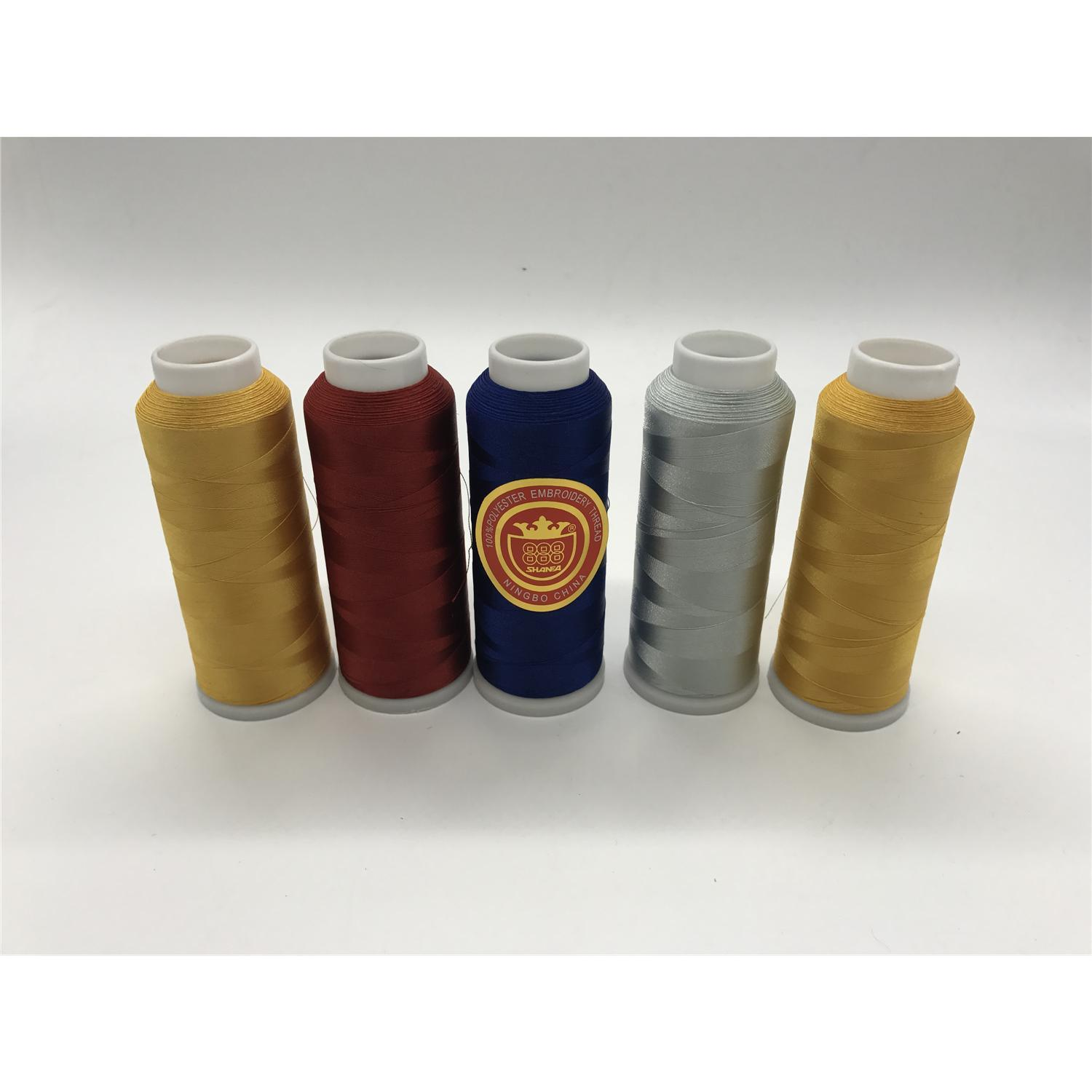 Shanfa 100% Polyester Embroidery Thread