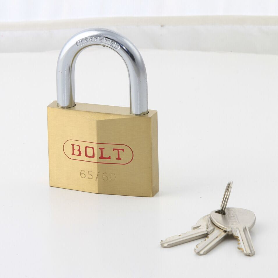 Diamond Brass Rhombic Type Padlock with Double Locking