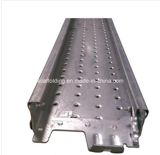 Steel Plank/Board with Assembled Hooks for Scaffolding