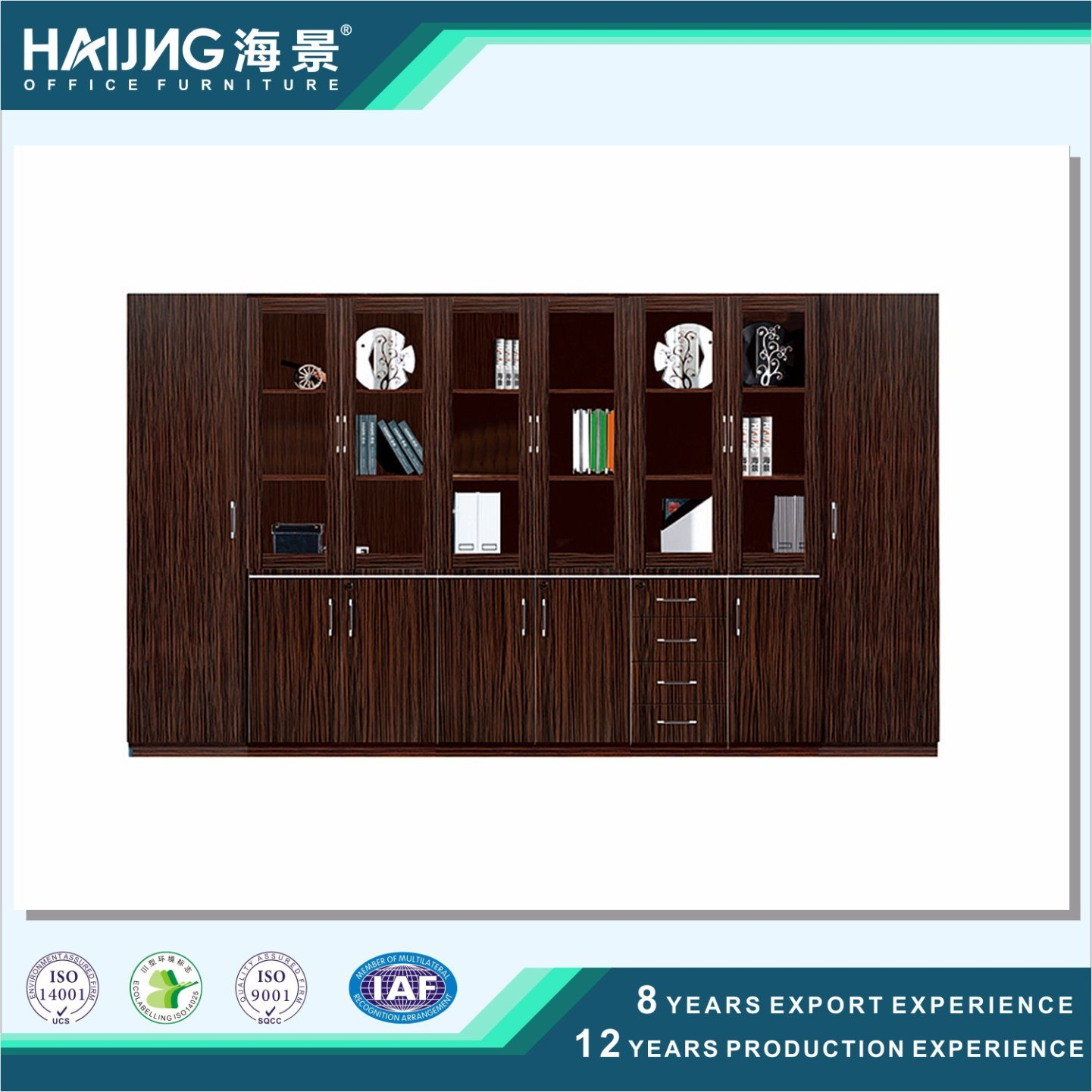 High Quality Storage Office Wooden Cabinet Filing Cabinet