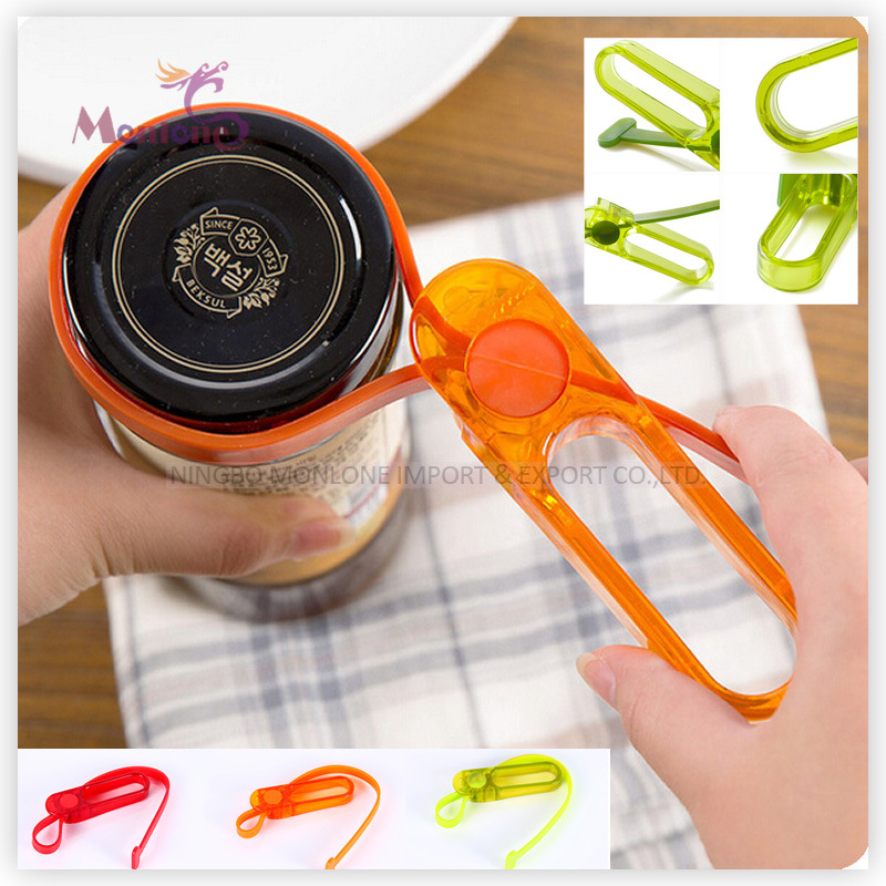 Plastic as+PVC Multi-Functional Creative Can Opener (4*7*13cm)