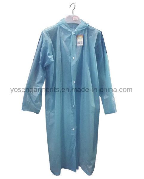 100% PVC Rainwear Waterproof Windproof Outdoor Raincoat (RWC02)