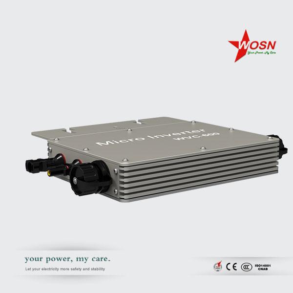 Waterproof on Grid Tie PV Micro Inverter Wvc-600W