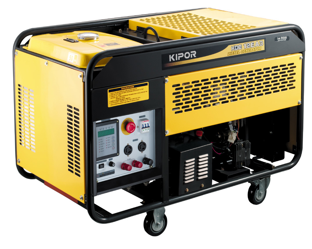 Kipor 10kw Portable Diesel Generator Kde12ea/Ea3