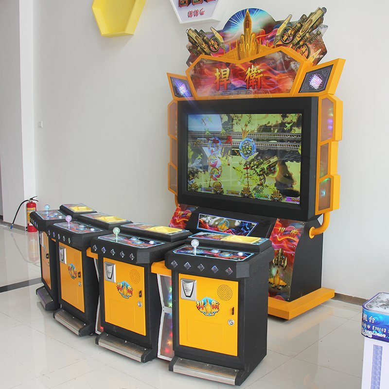Amusement Game Machine Fighting Planes Video City Equipment