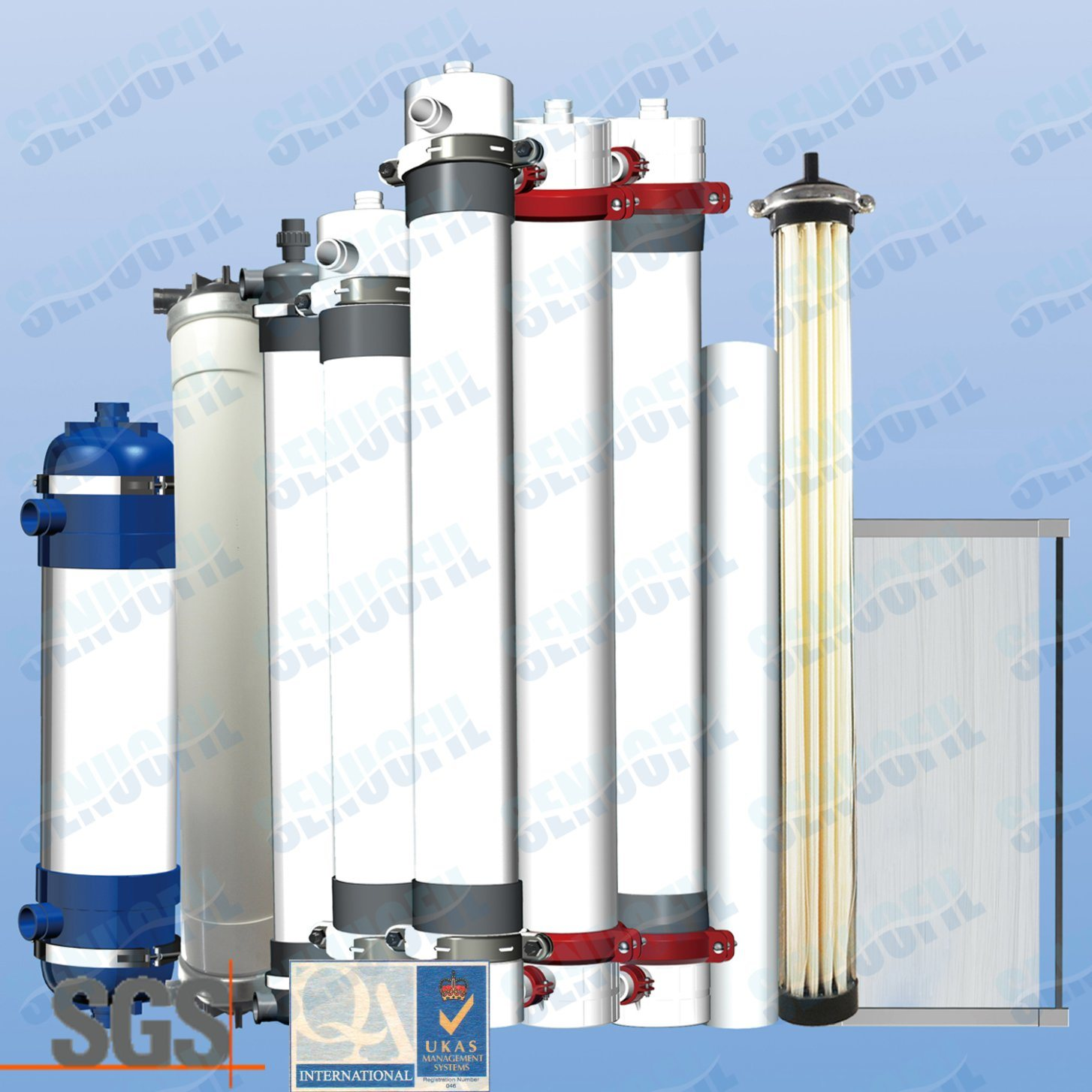 Senuofil Inside-out UF Membrane Module Replacement Softener for Water Treatment