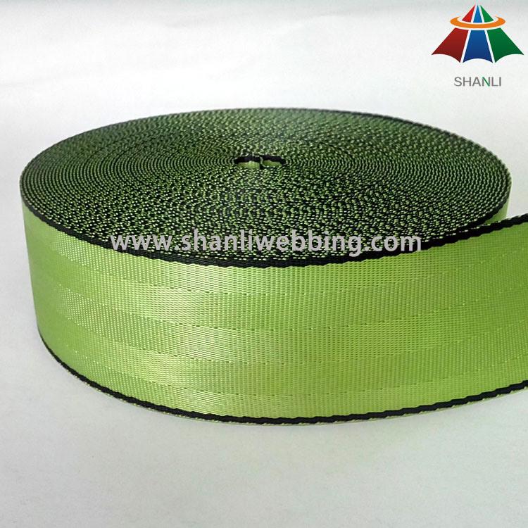 Nylon/Polyester Safety Belt Webbing Straps, Car Seat Belt Webbing