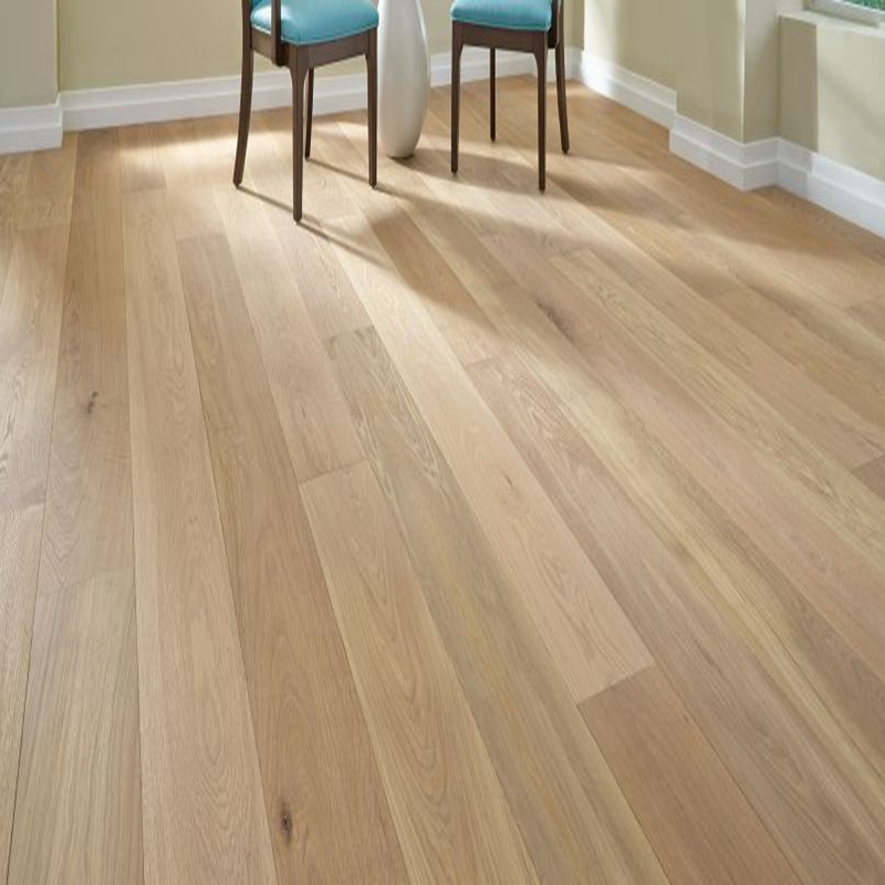 Wide Plank Brushed White Oiled Engineered Oak Wood Flooring/Hardwood Floor