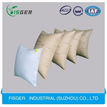 Cheap and Strong Consistanced Kraft Paper Air Dunnage Bags for Containers
