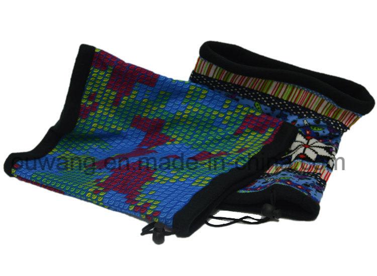 Hot Sell Mulitifunctional Custom Print Colorful Neck Warmer for Ski