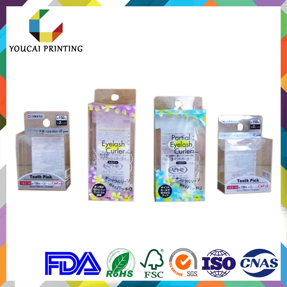 Clear Plastic Rectangular Hanger Boxes