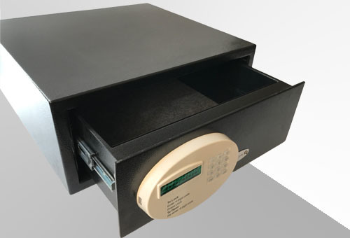 Electronic Drawer Safe for Hotel and Home Use