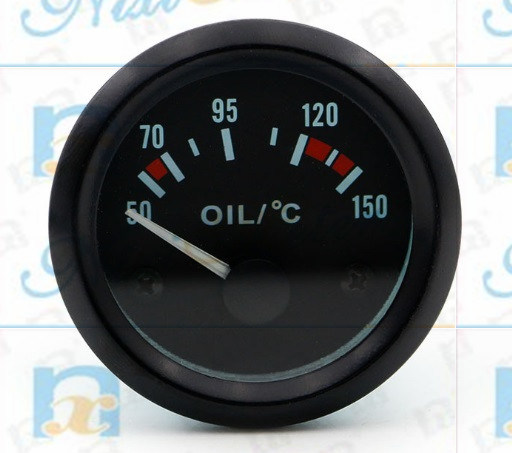 Auto Universe Oil Water Temperature Gauge