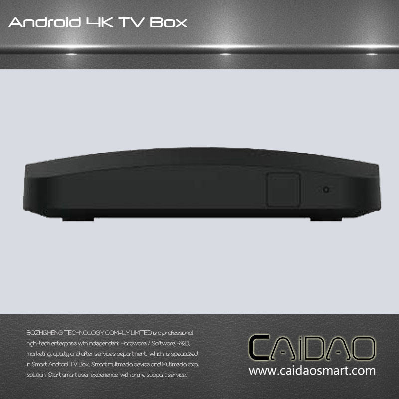 Android 6.0/Android7.0 IPTV Ott TV Box with Amlogic S905X