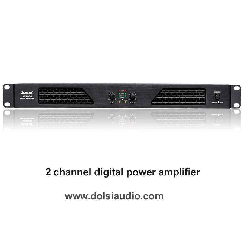 DJ Sound Class D PRO Audio Digital Professional Power Amplifier