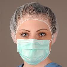 Custimized 10g Blue &White PP Nonwoven Fabric for Surgical Cap