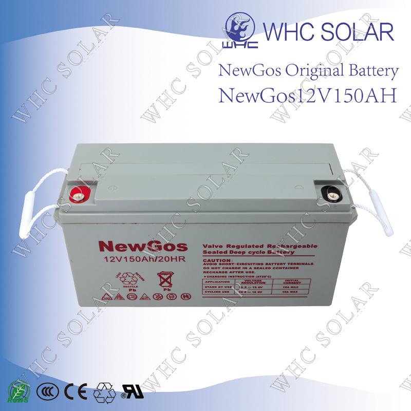 Deep Cycle Lead Acid Battery 12V 150ah Solar Battery