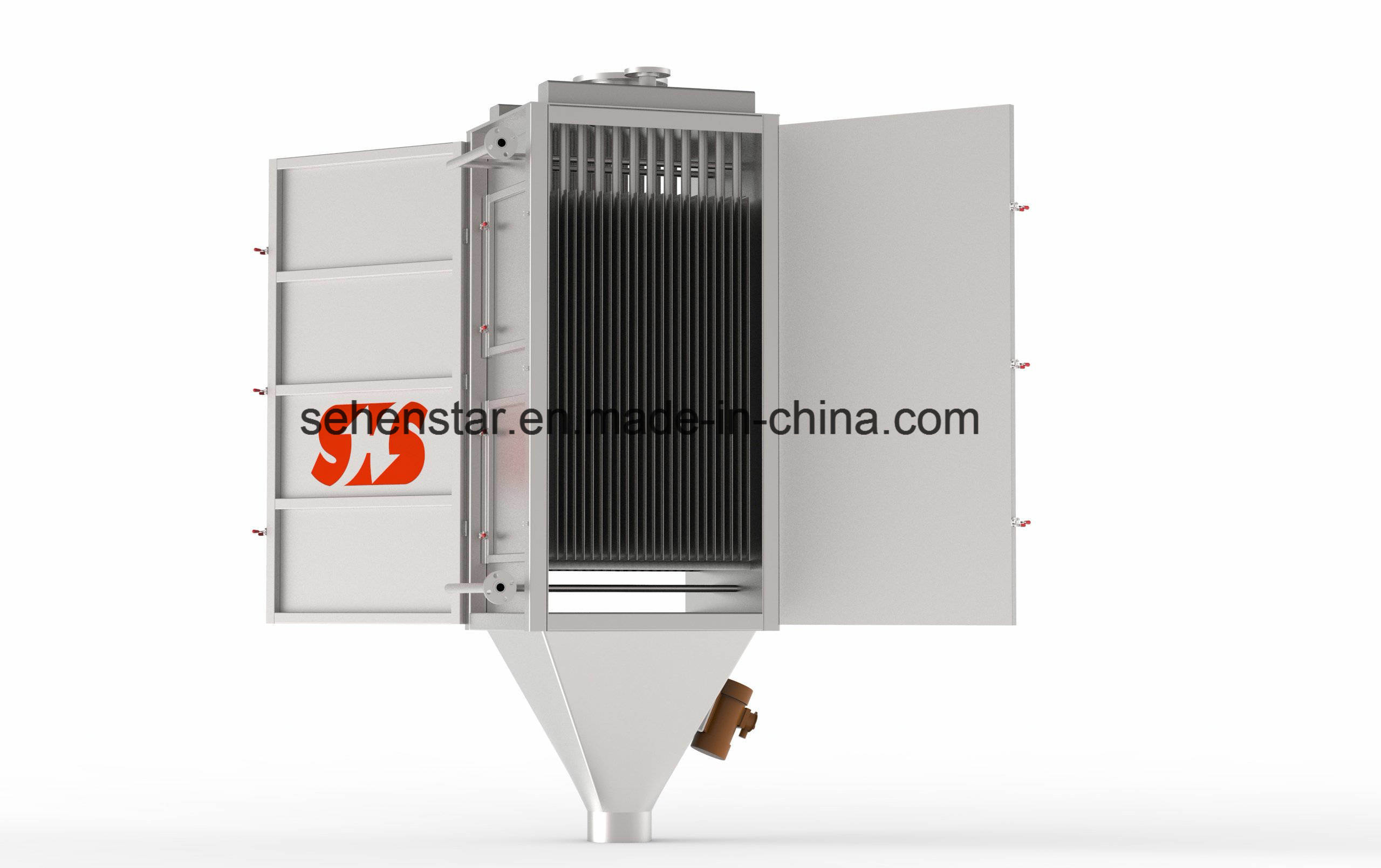 Bulk Solid Heat Exchanger for Chemical Fertilizer Fluid Bed Dryer Replacement
