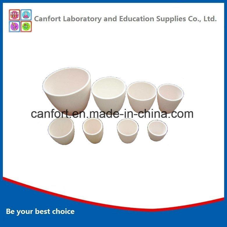 Laboratory Crucible, Arc-Shaped Corundum Crucible for Lab Use