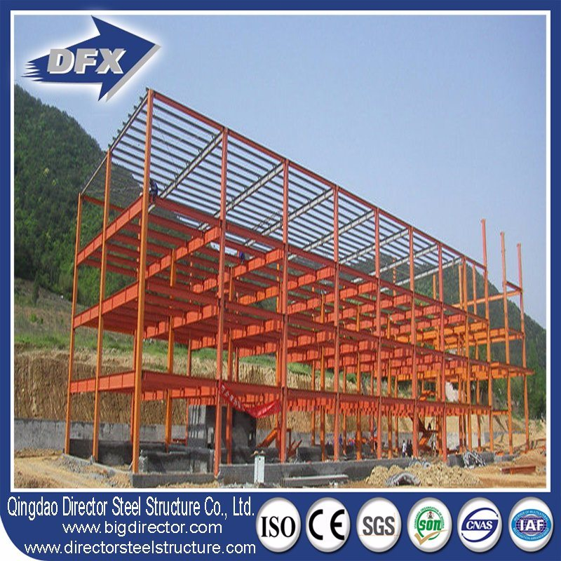 Pre-Engineered Multi-Storey Steel Structure Prefab/Prefabricated Buildings