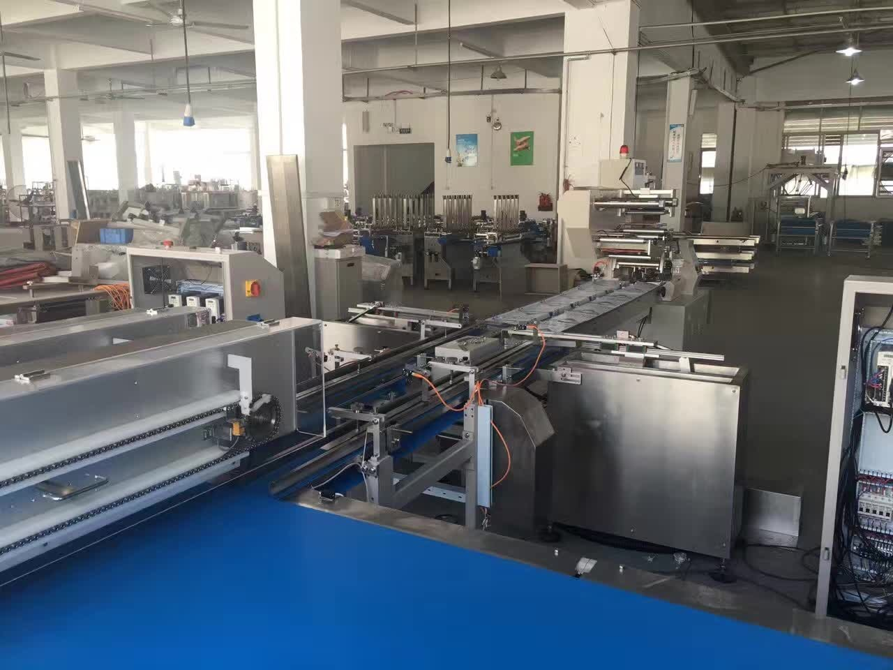 Wafer/ Single Wafer/ Family Wafer Automatic Feeding Package Machine