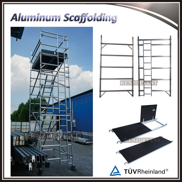 High Quality Aluminium Mobile Scaffolding Tower