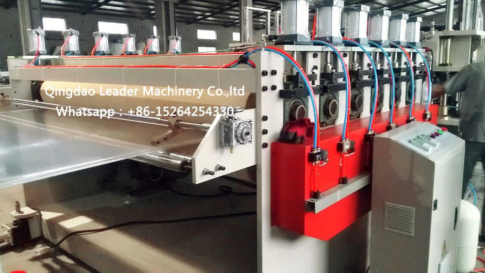 Polycarbonate PC Hollow Sheet Extrusion Machine