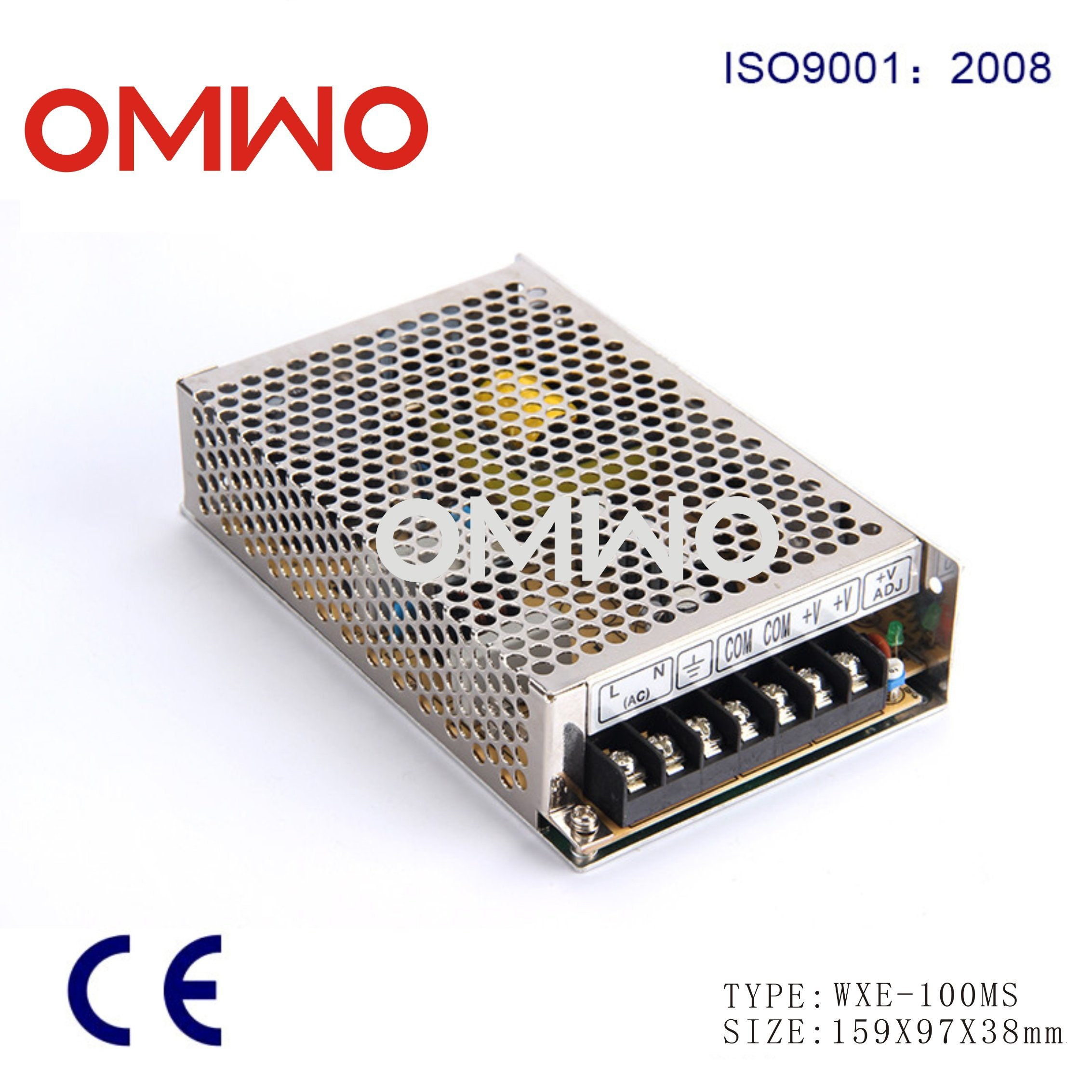 Wxe-100ms-24 110VAC to 24VDC 4.2A 100W Mini LED Driver SMPS