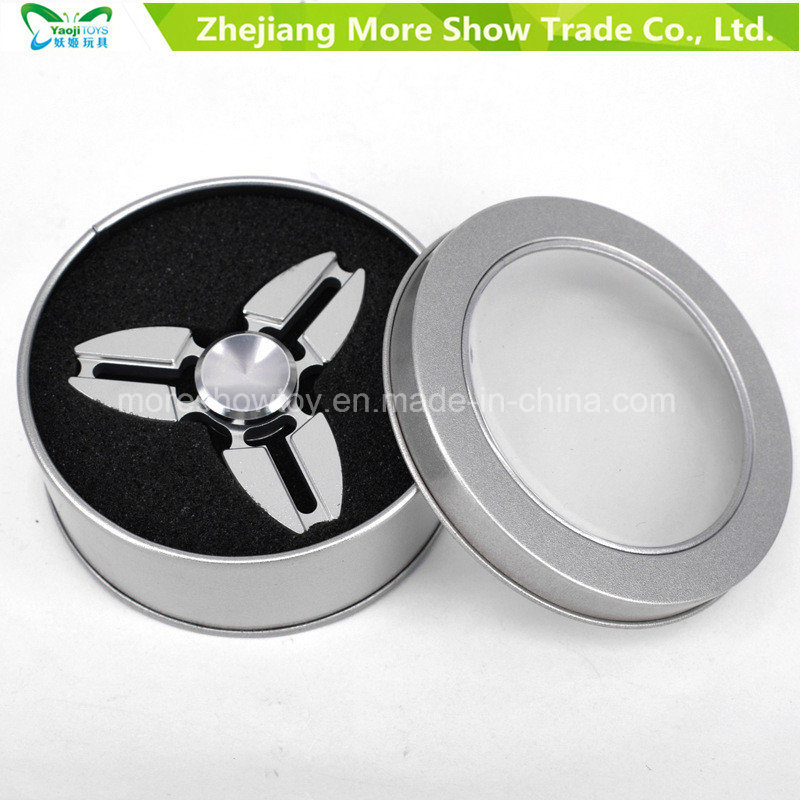 Tri Fidget Hand Spinner Crab Metal Stress Toy EDC Adhd Autism