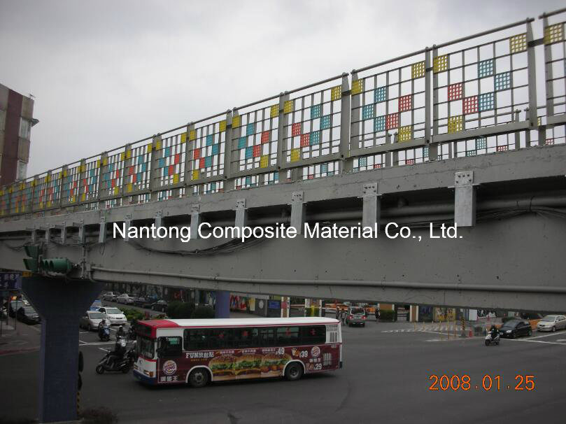 GRP Fiberglass Translucent Grating/Molded Grating/FRP Decoration Grating