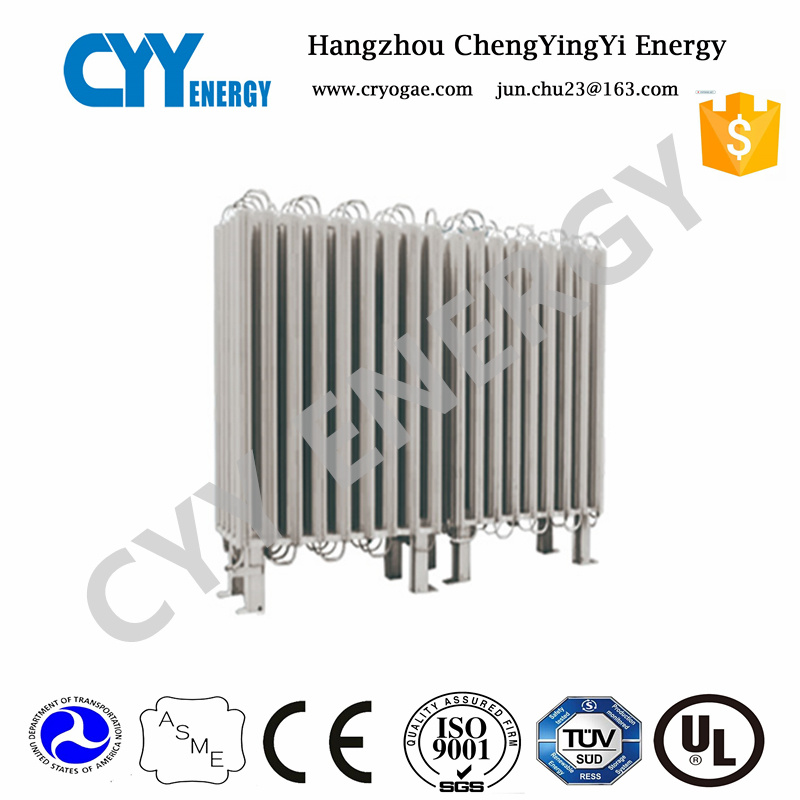 LNG LPG Liquid Oxygen High Pressure Ambient Gas Vaporizer