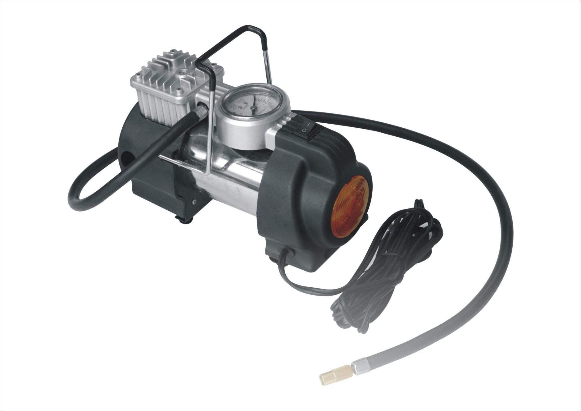DC12V/24V 100psi Mini Air Compressor for Car