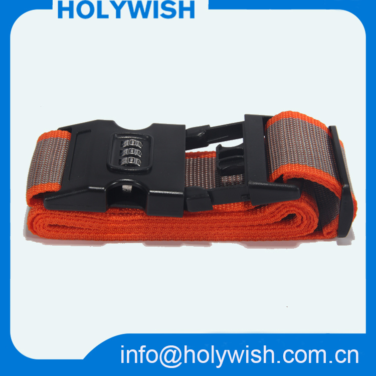 Travel Luggage Belt with Logo and Tsa Digital Lock