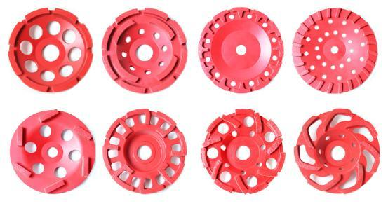 Vacuum Brazed Concrete Floor Grinding Cup Wheels Diamond Tools
