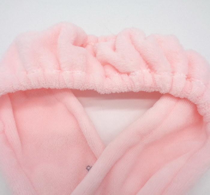Elastic Soft Fleece Beauty Baby SPA Make up Hair Headband for Bath Salon