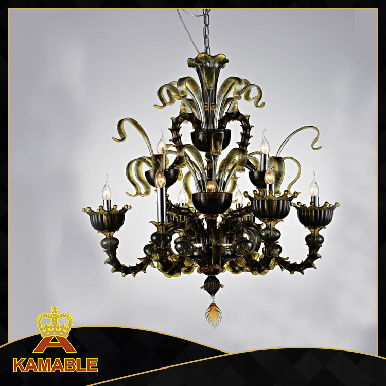High Quality Lowest Price Murano Glass Chandelier (KA80240-9+1)