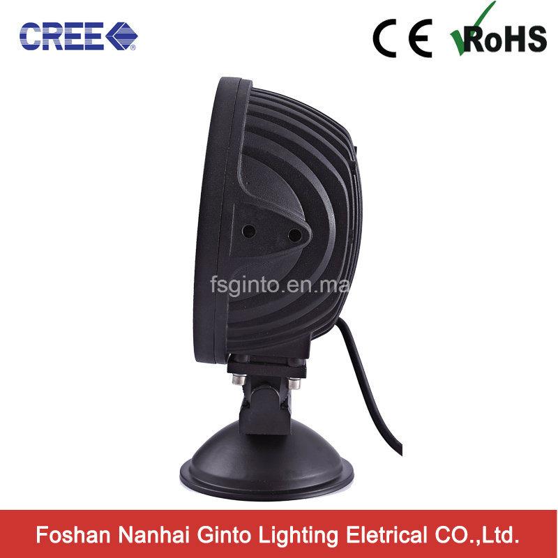 60W 4D CREE Round LED Work Light (GT6601-60W)