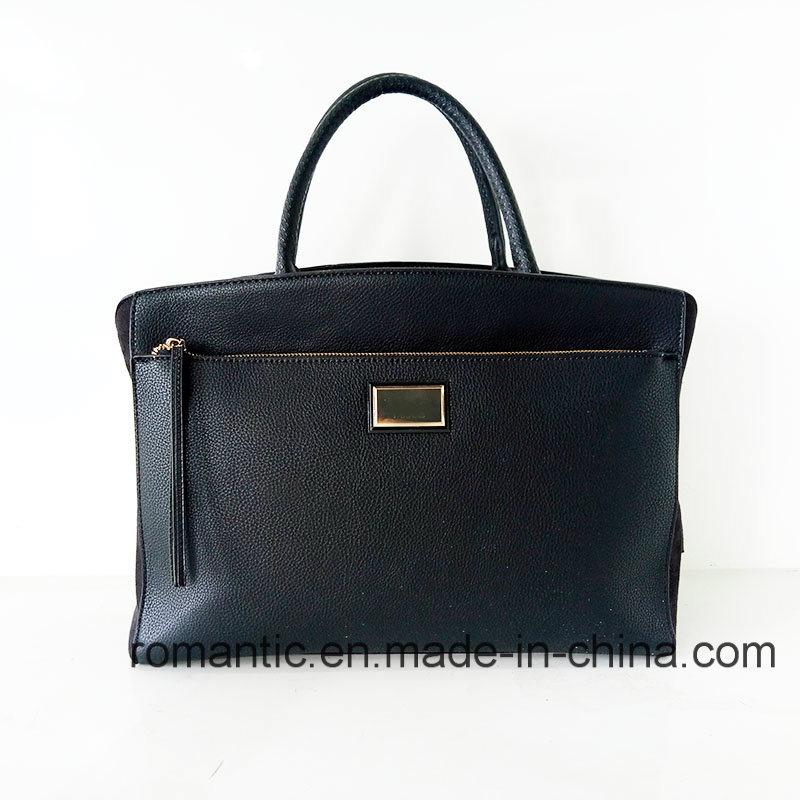 Fashion Brand Designer Women PU Suede Briefcase (NMDK-051646)