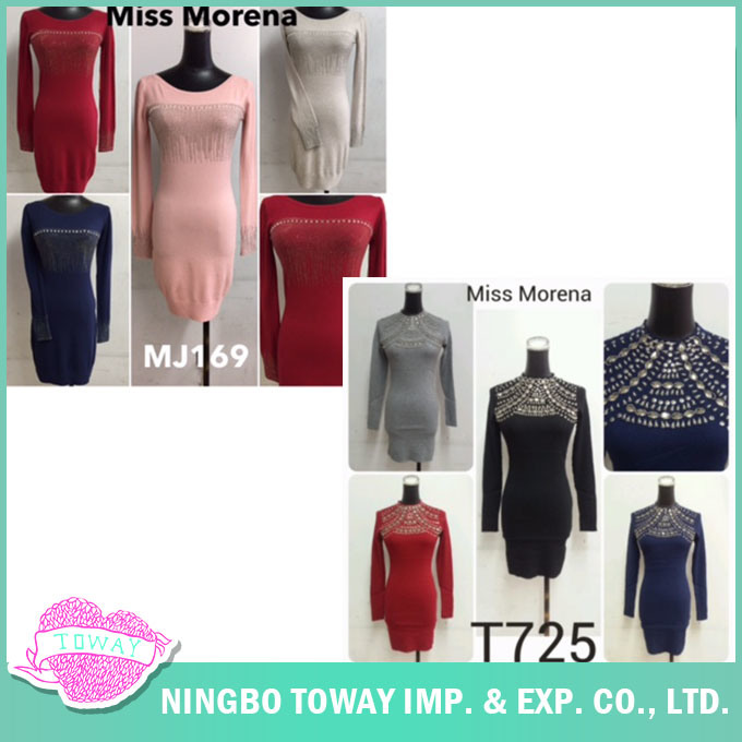 Knitwear Manufacturer Women Ladies Spring Grey Knitwear Clothing